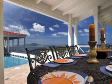 Photo 2 of Colorful Caribbean Villa Overlooking Long Bay Beach