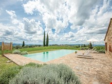 Photo 2 of Farmhouse Rental in Tuscany, Castellina Scalo