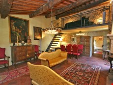Photo 2 of Charming 14th Century Apartment in the Center of a Medieval Town in Tuscany