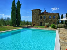 Photo of Beautiful Large 18th Century Villa in Tuscany with Private Pool Near Town