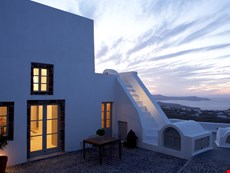 Photo of Luxury Greek Villa on Santorini in the Village of Pyrgos