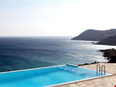 Photo of Chic Mykonos Villa with Pool and Sea Views, Elia Beach