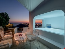 Photo of Greek Island Villa with a Jacuzzi and Great Views