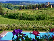 Photo 2 of Grand Villa with Private Pool Overlooking Tuscan Vineyards