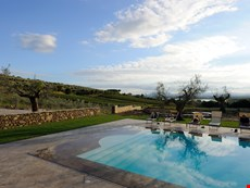 Photo 2 of Beautiful Large Villa on Tuscany-Umbria Border Overlooking Vineyards