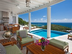 Photo 2 of Luxury Villa Rental on St. Thomas with Infinity Pool