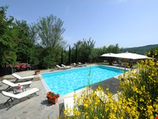 Photo 1 of Villa with Pool and 2 Guesthouses for a Group in Eastern Tuscany