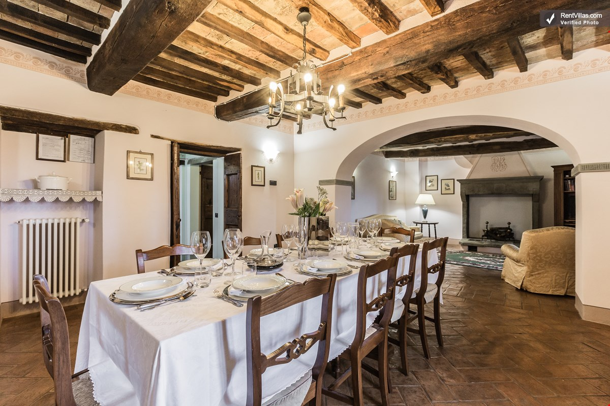 Photos Of Beautiful Tuscan Villa With Medieval Tower Near Charming