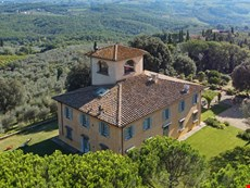 Photo 1 of Private luxury villa near Florence with pool, tennis court, beautiful gardens, spectacular views.