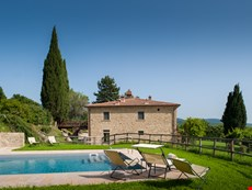 Photo 2 of Countryside villa with garden, pool and on working farm near Arezzo