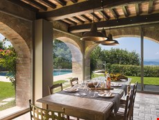 Photo 1 of Arezzo countryside oasis with pool, views, garden, on-location winery