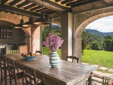 Photo of Arezzo countryside oasis with pool, views, garden, on-location winery