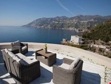 Photo of Maiori villa with pool and sea views near town, beaches, restaurants, shops