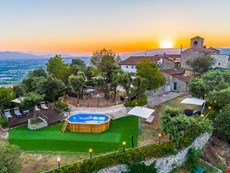 Photo 2 of Exclusive  Hilltop  Medieval  Villa  Features  Modern  Comforts,  Panoramic  Sea  Views,  Garden,  Pool  and  Jacuzzi  in  Pistoia,  Tuscany