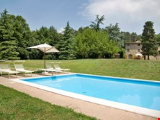 Photo 1 of Rural Lucca Villa with Garden, Pool, BBQ, Pizza Oven, Near Town. Ideal for Family of 10 with Children.